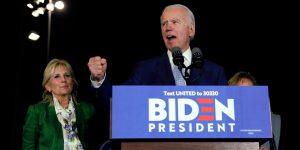 Joe Biden revive su campaña en el Supermartes— lidera la contienda por la candidatura demócrata