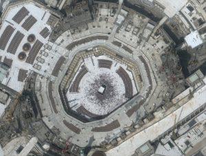 Imágenes de satélite revelan ciudades y santuarios desiertos por temor al coronavirus