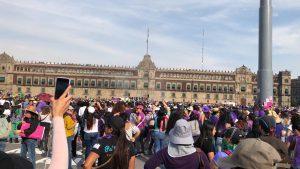 Este es el paso de la #Marcha8M de mujeres en la CDMX