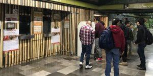 40% menos de usuarios viajaron este lunes en el Metro por paro de mujeres #UnDíaSinNosotras