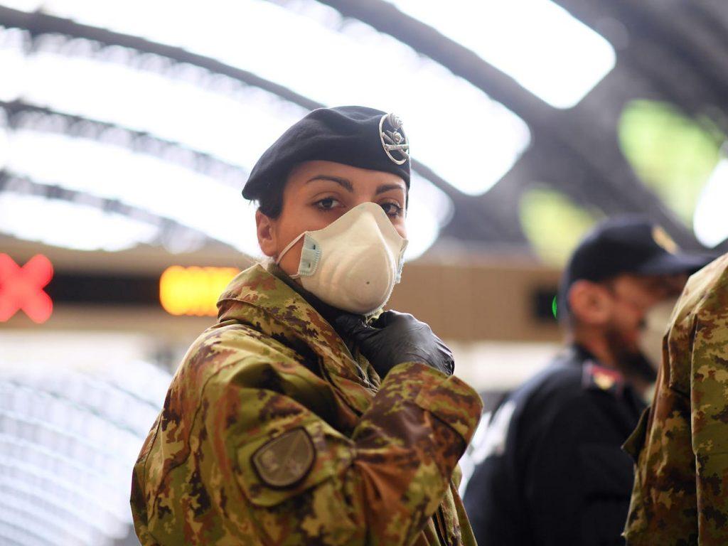 italia milán coronavirus ejército
