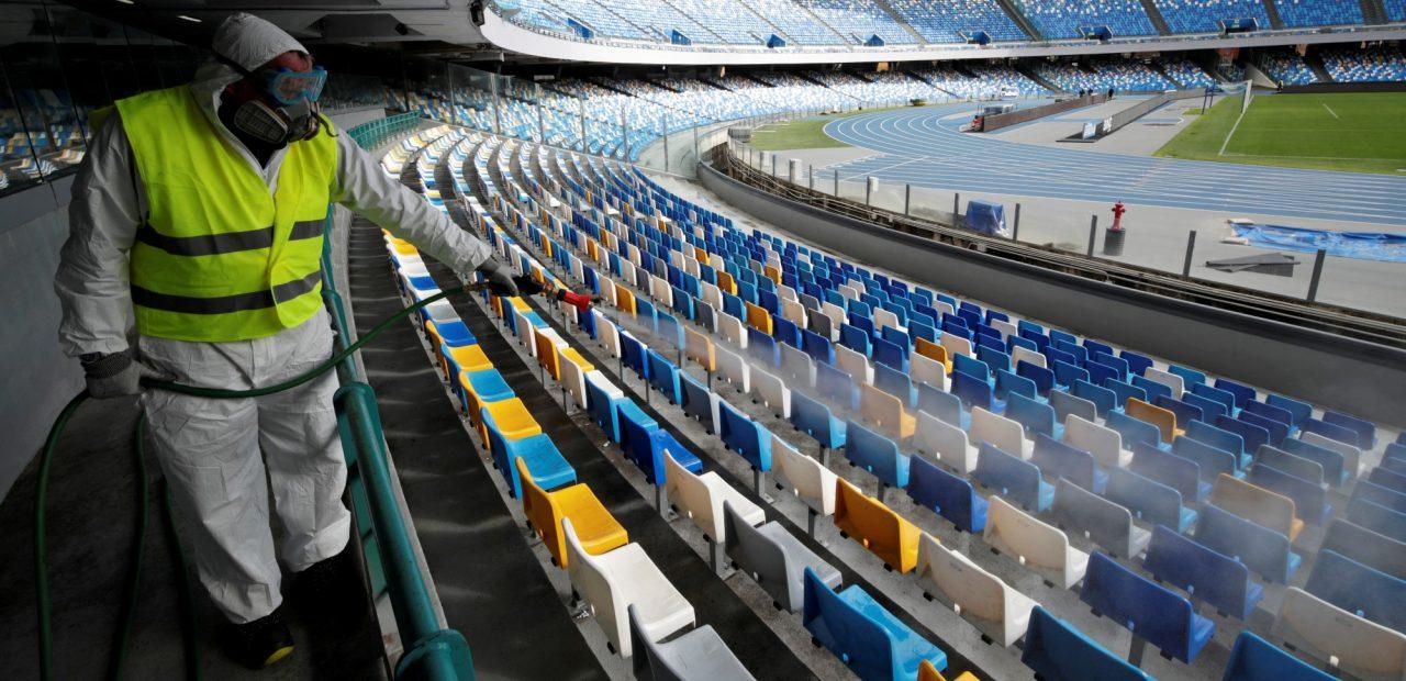 federación italiana de futbol serie a suspensión coronavirus