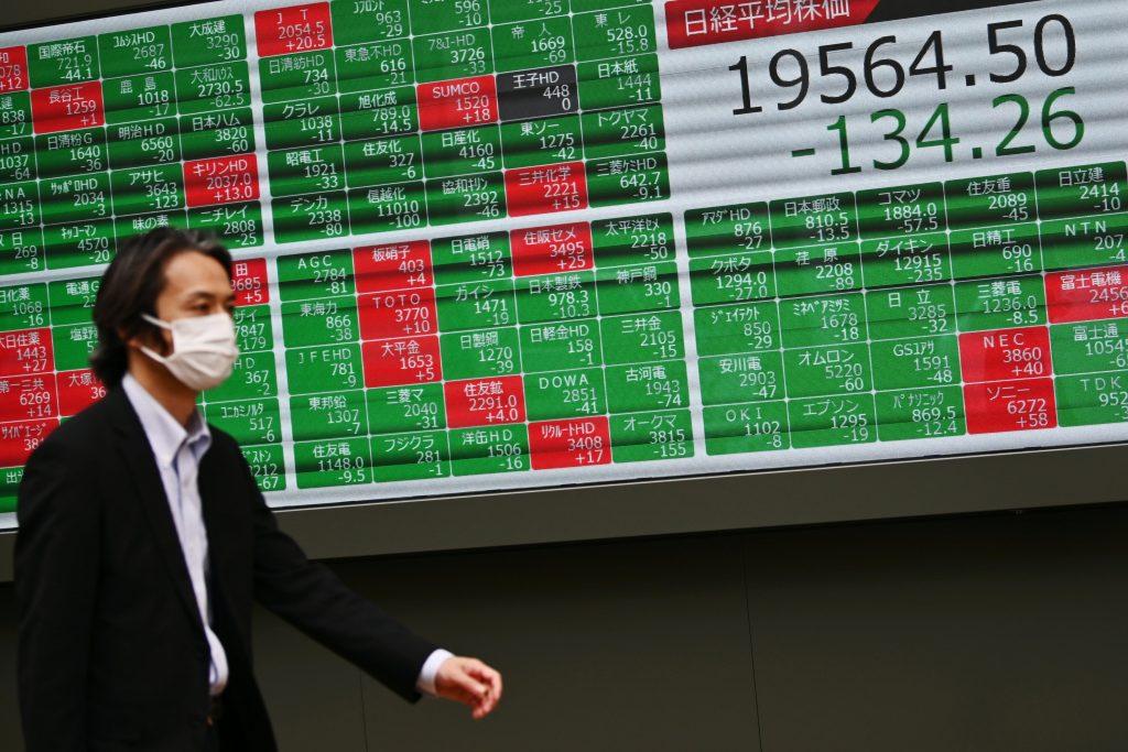 coronavirus caída bolsa de valores japón