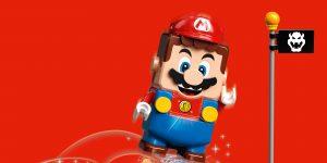 Lego y Nintendo anuncian una sorpresiva colaboración con el set de Super Mario