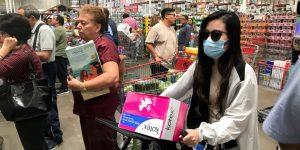 Así son las compras en supermercados de 2 grandes ciudades de México, por el coronavirus