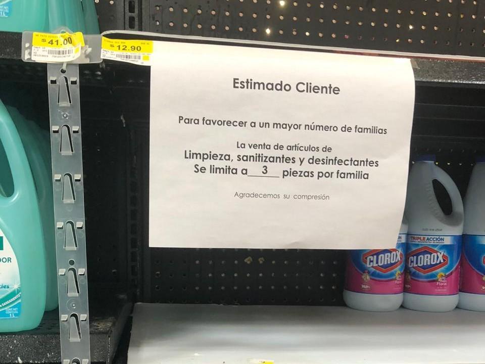 compras pánico México coronavirus