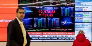 Mercados se contagian del miedo a recesión – a causa del COVID-19– y se hunden