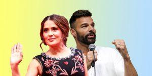 Salma Hayek y Ricky Martin promueven el #YoMeQuedoEnCasa ante el coronavirus