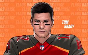 Tom Brady es el nuevo quarterback de los Buccaneers de Tampa Bay