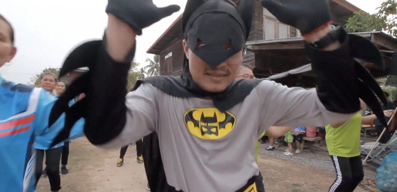 Batman tailandés coronavirus