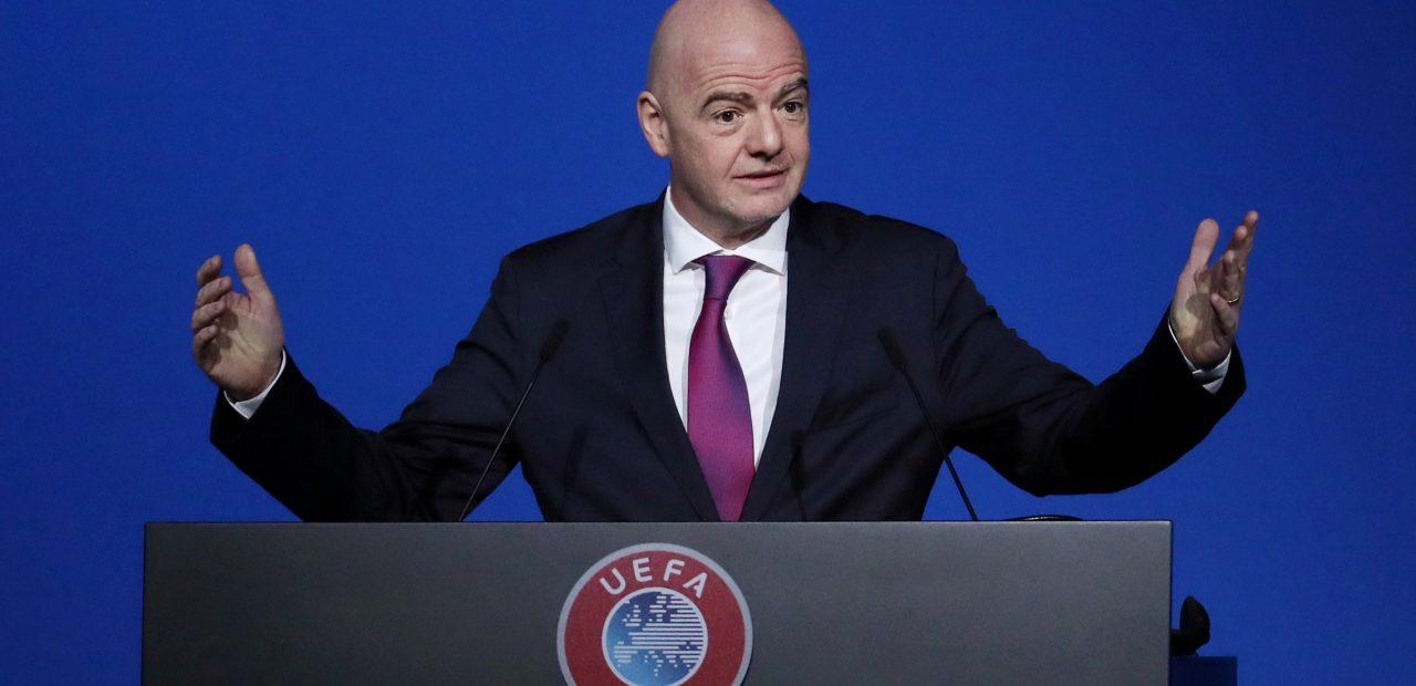 Gianni Infantivo FIFA calendario UEFA CONMEBOL