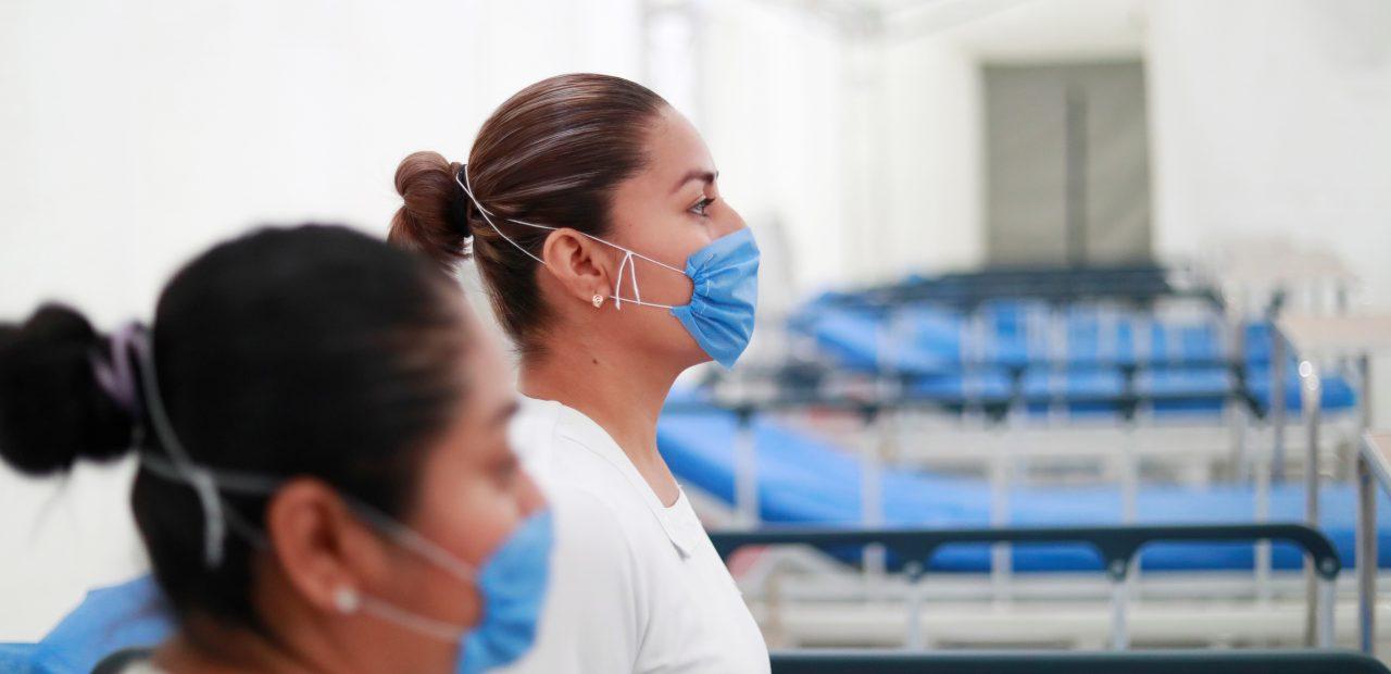coronavirus mexico enfermeras secretaria de salud pachuca hidalgo