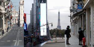 Fotos de 9 grandes ciudades del mundo revelan cómo es la vida diaria en medio de la pandemia de coronavirus