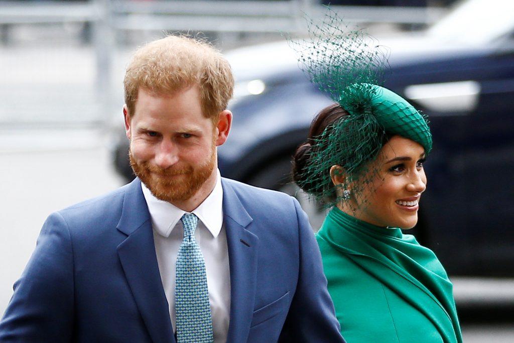 príncipe Harry y Meghan Markle duques de sussex