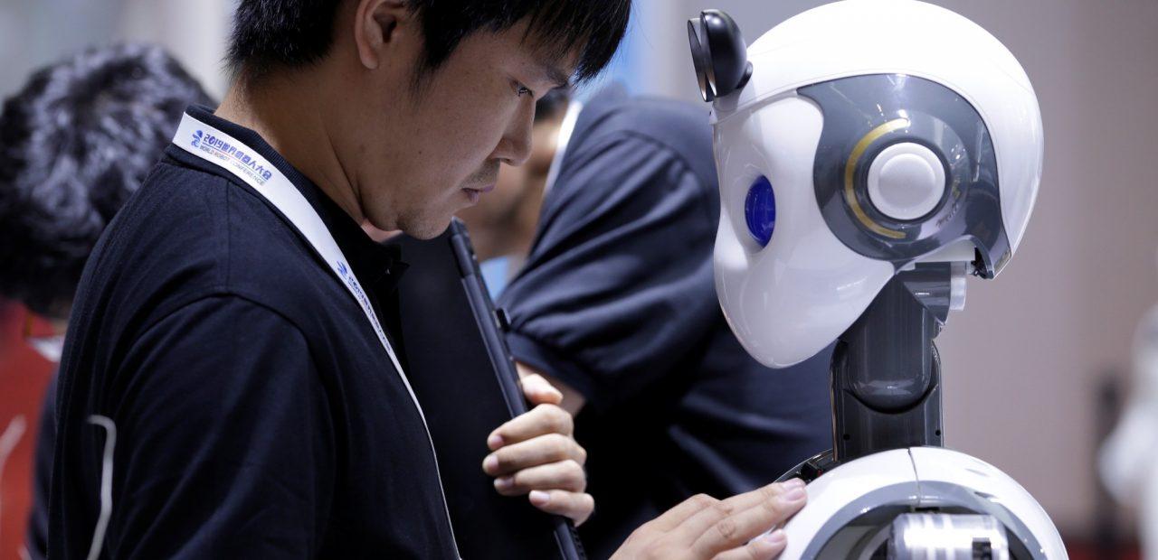 Hospital de robots Wuhan