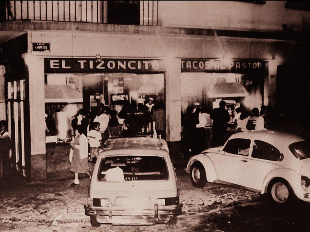 El Tizoncito historia 1966 tacos al pastor