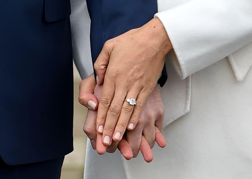 compromiso meghan markle principe harry anillo