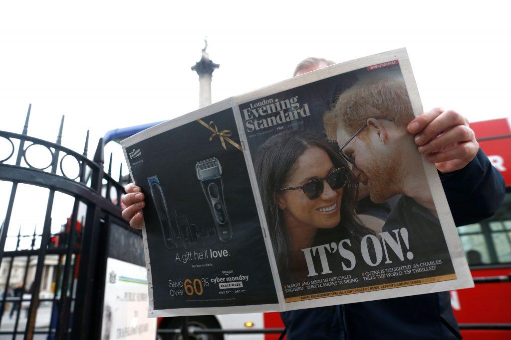compromiso principe harry meghan markle prensa inglesa
