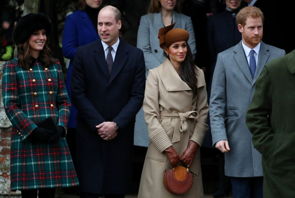 meghan markle príncipe harry kate middleton principe william servicio de navidad 2017