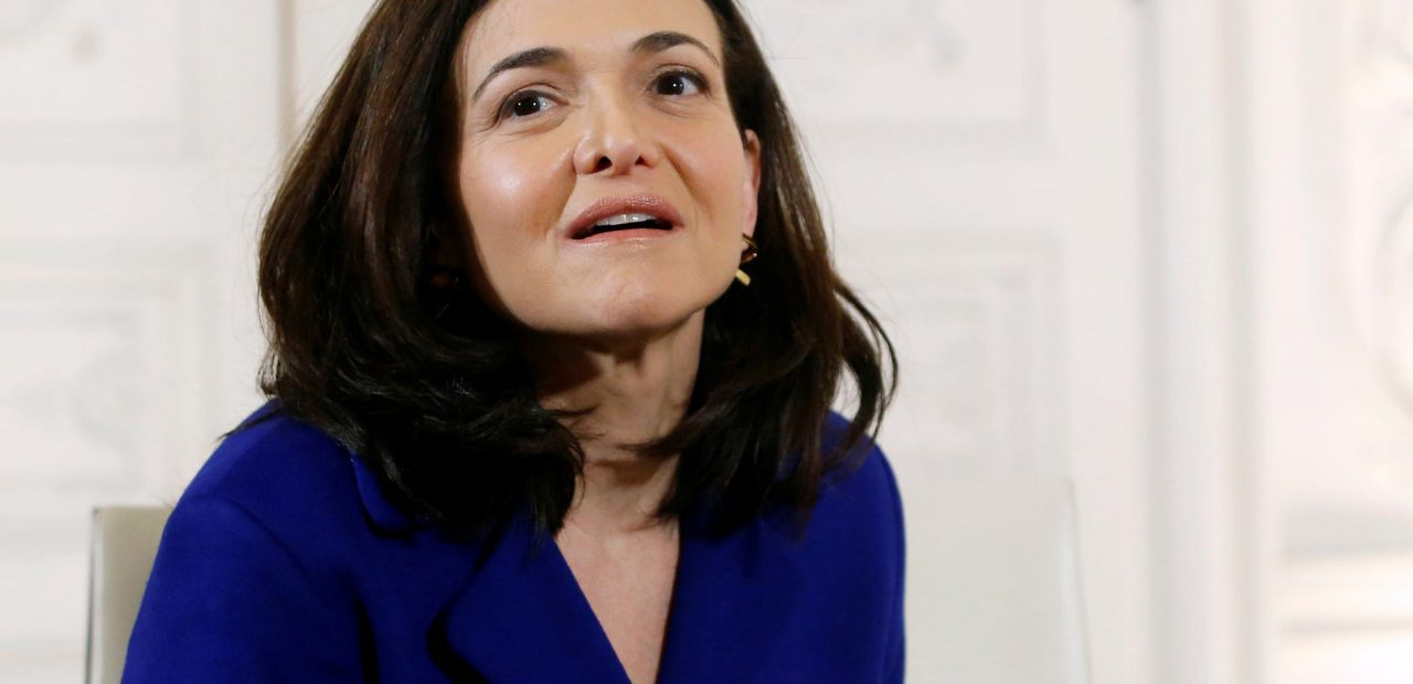 Sheryl Sandberg COO Facebook desinformación fake news coronavirus