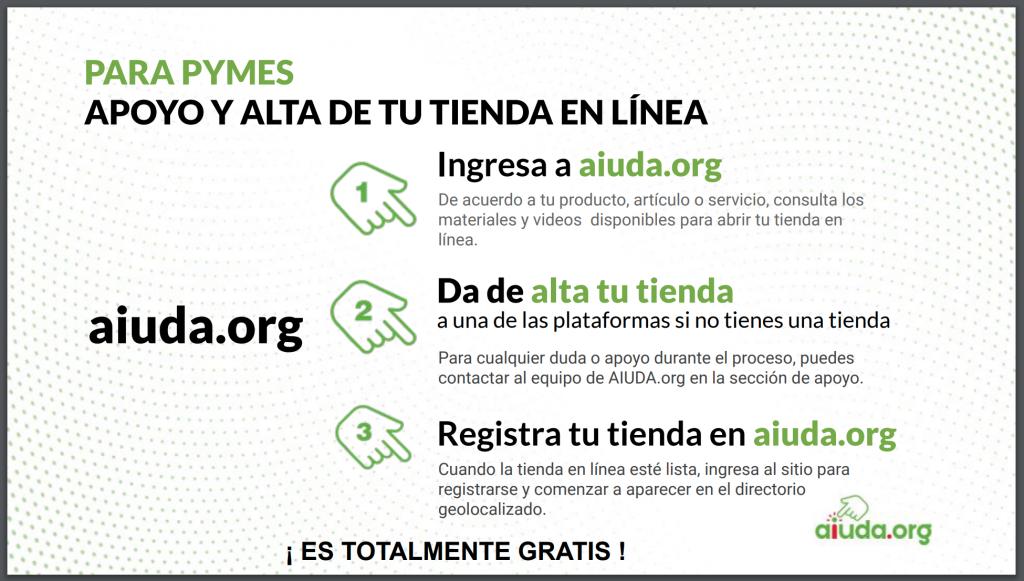 aiudar.org plataforma para vender y comprar por internet