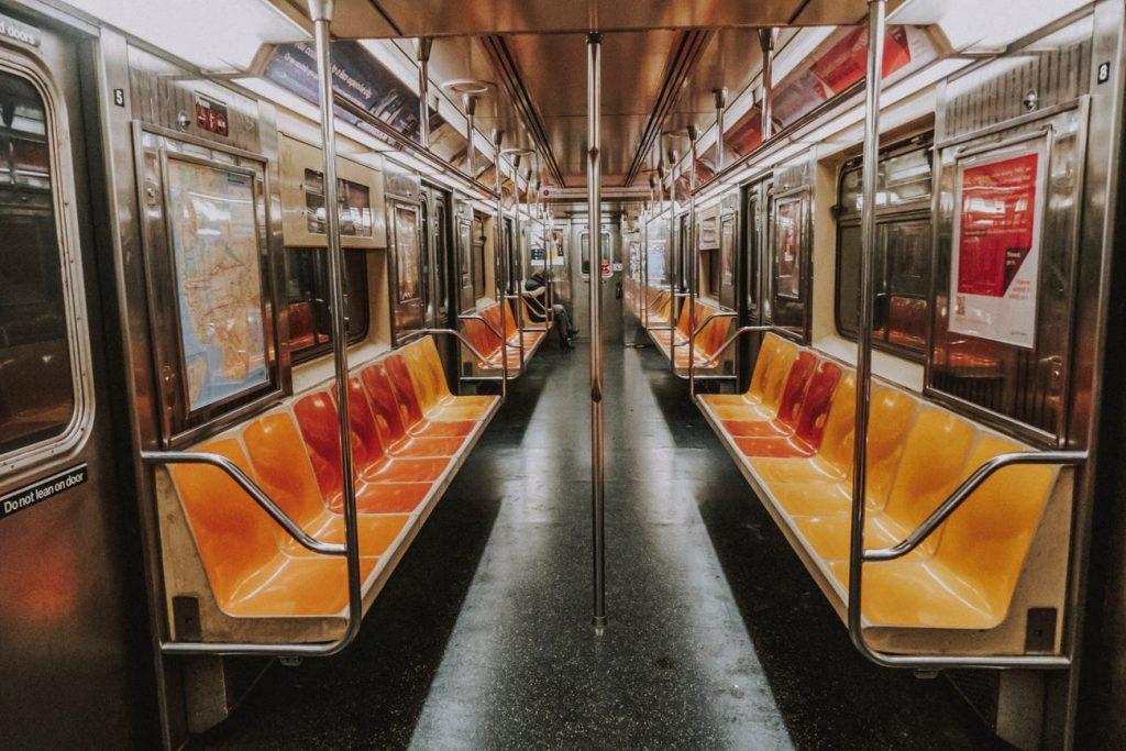 metro vacío nueva york