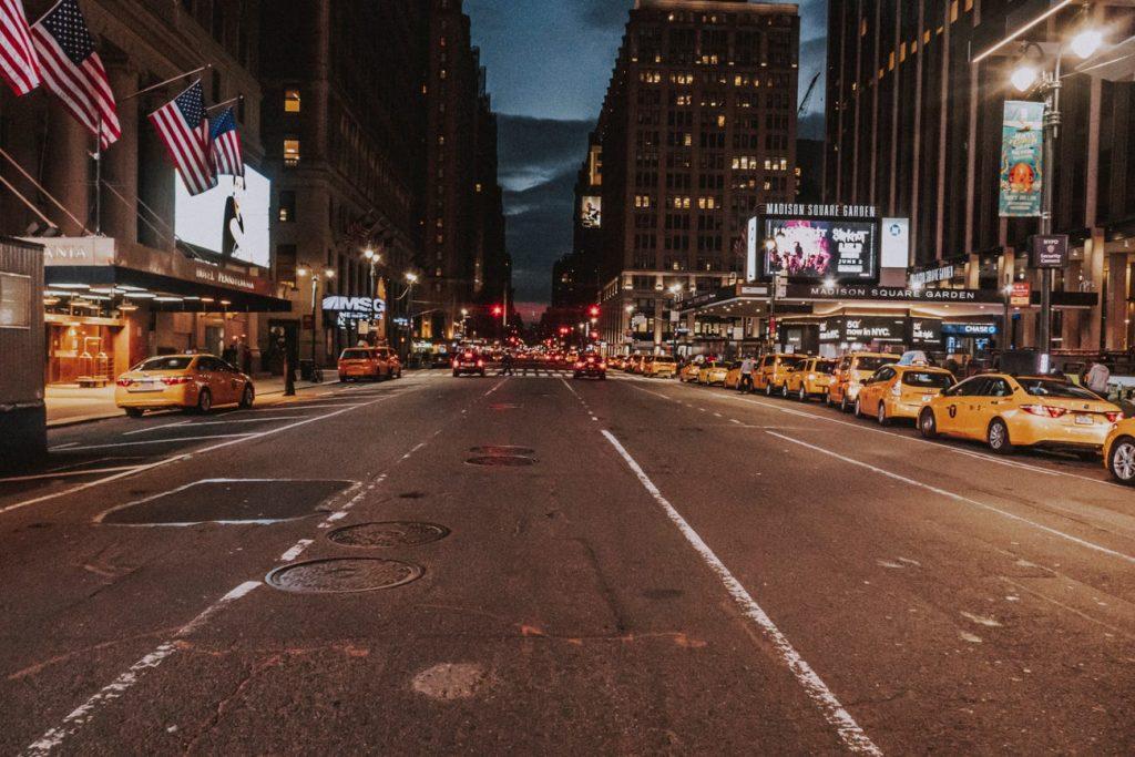 calles nueva york pandemia