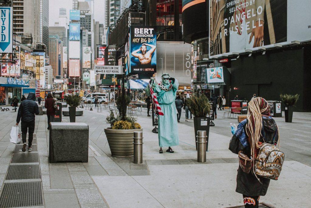 artistas en nueva york