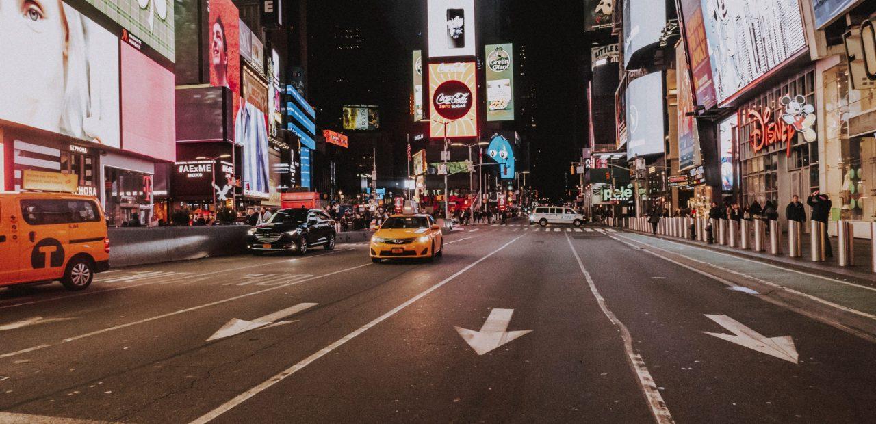 Nueva Tork Times Square fotografía calles vacías encierro cuarentena coronavirus