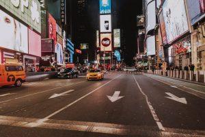 Este fotógrafo capturó las misteriosas calles vacías de Nueva York bajo el encierro por el coronavirus