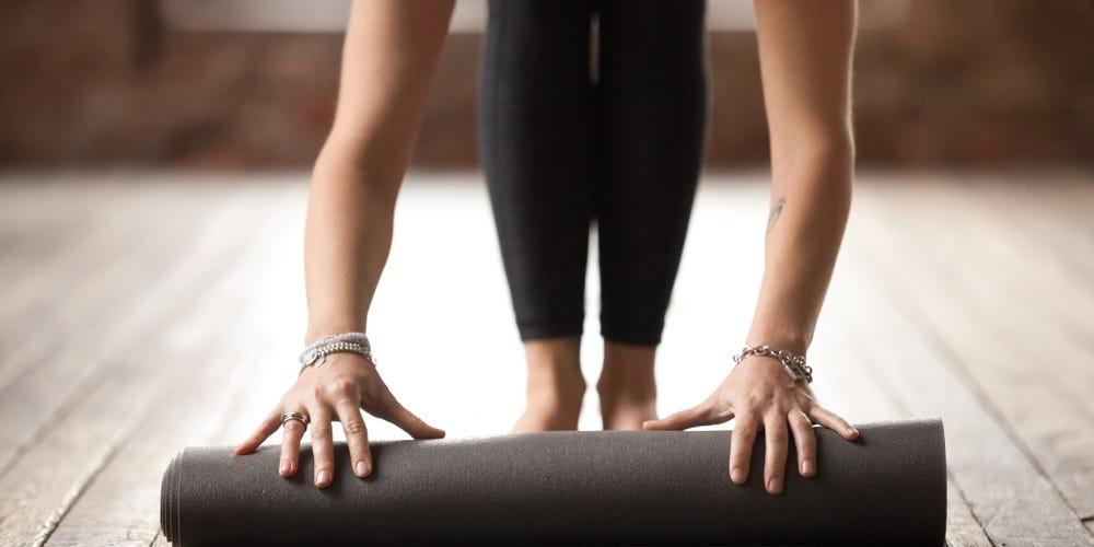 La practica de yoga puede ayudarte a meditar en momentos de ansiedad.