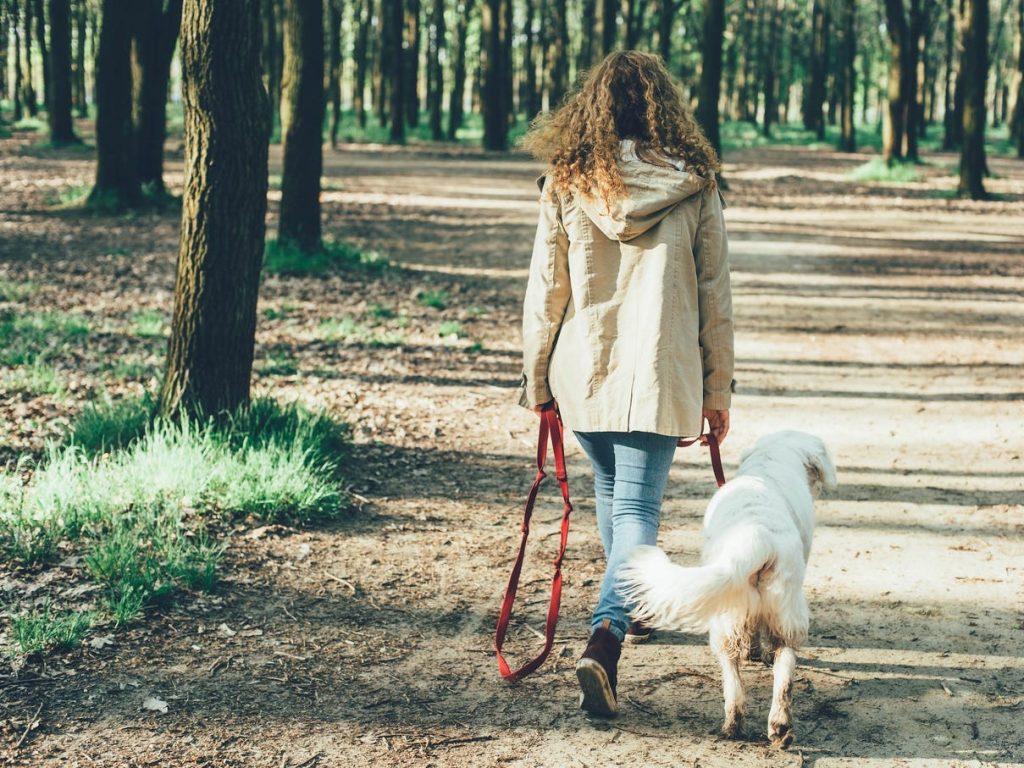 Aunque no lo creas mientras caminas también puedes mediar en un momento de ansiedad.