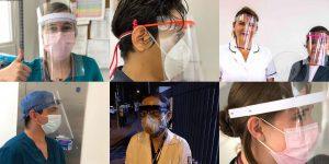 México Makers —la iniciativa inspirada en España— que ayuda a crear equipos de protección para médicos