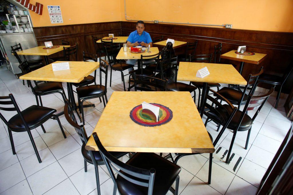 restaurantes cerrados o vacíos crisis por coronavirus