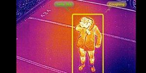 'Drones pandémicos' podrían ubicar a personas que tosan, estornuden o tengan fiebre en una multitud— así es como funcionan
