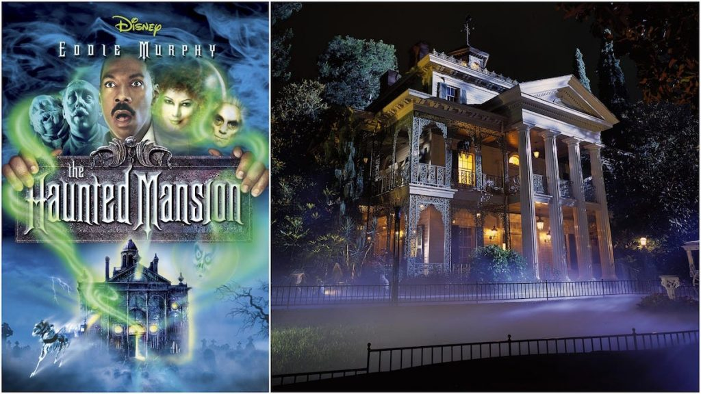 la mansión embrujada the hauted mansion disney película atracción