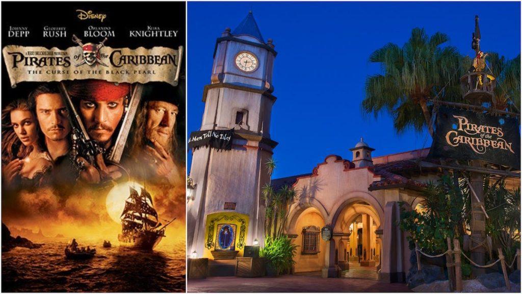 piratas del caribe juego saga de películas disney adaptación