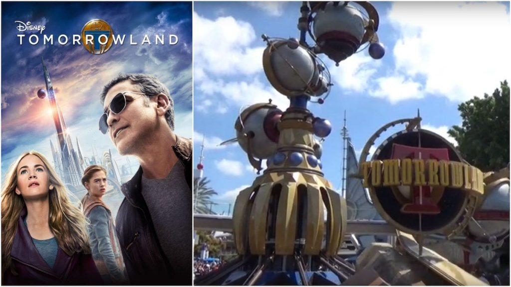 Tomorrowland tierra temática disneyland disney adaptación película