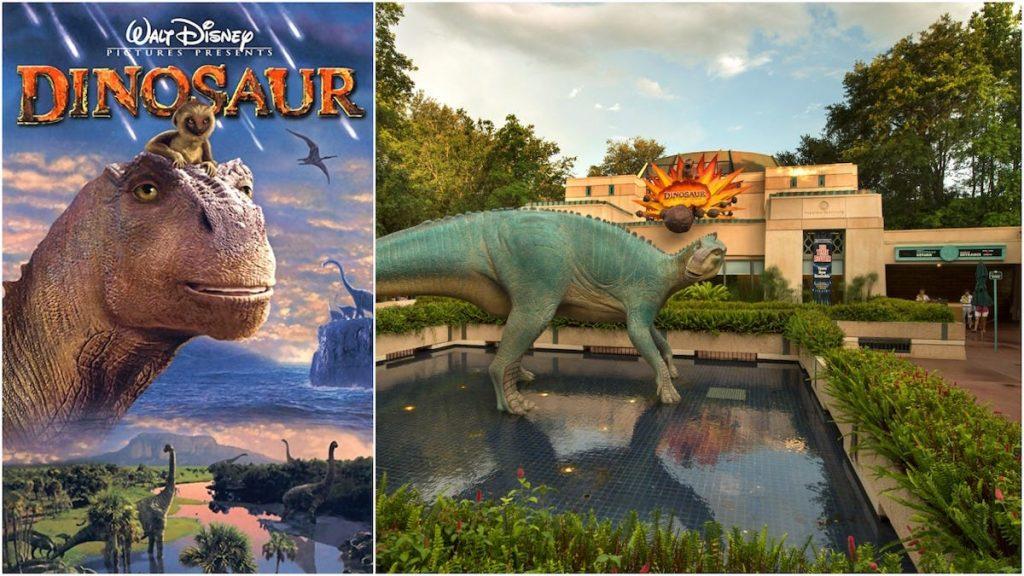 dinosaurio dinosaur atracción disney animal kingdom película