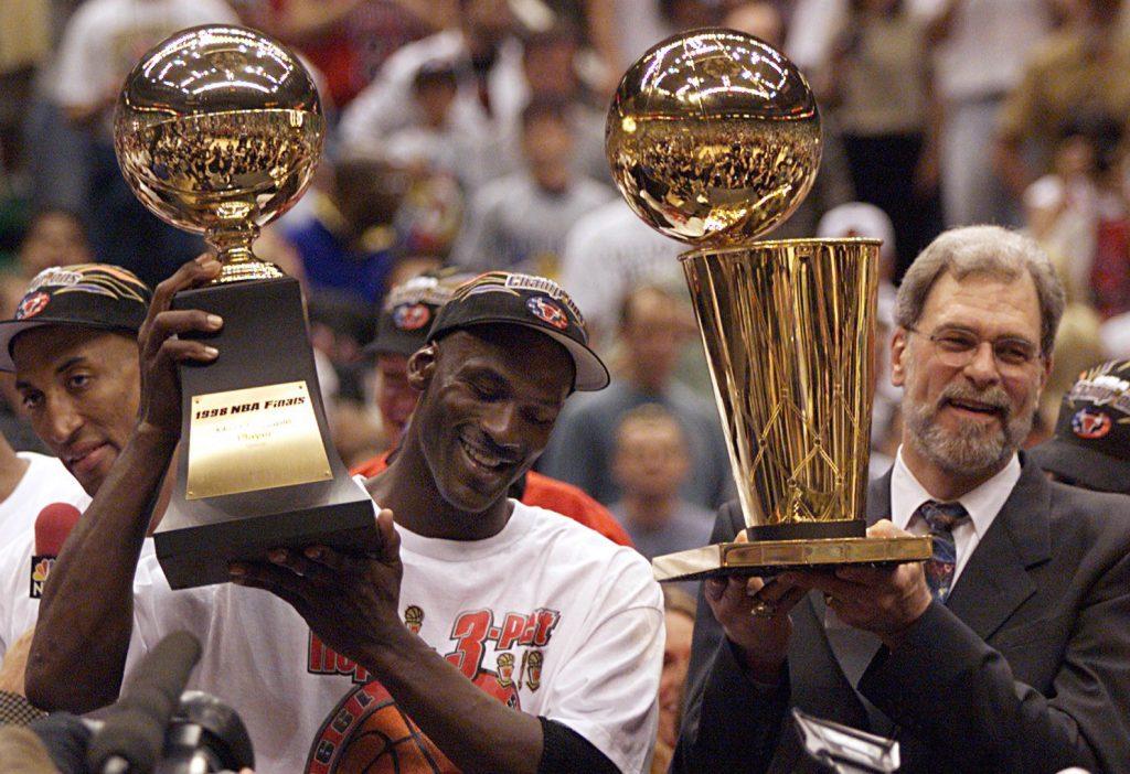 Michael Jordan Chicago Bulls campeonato NBA 1998 El último baile miniserie documental Netflix