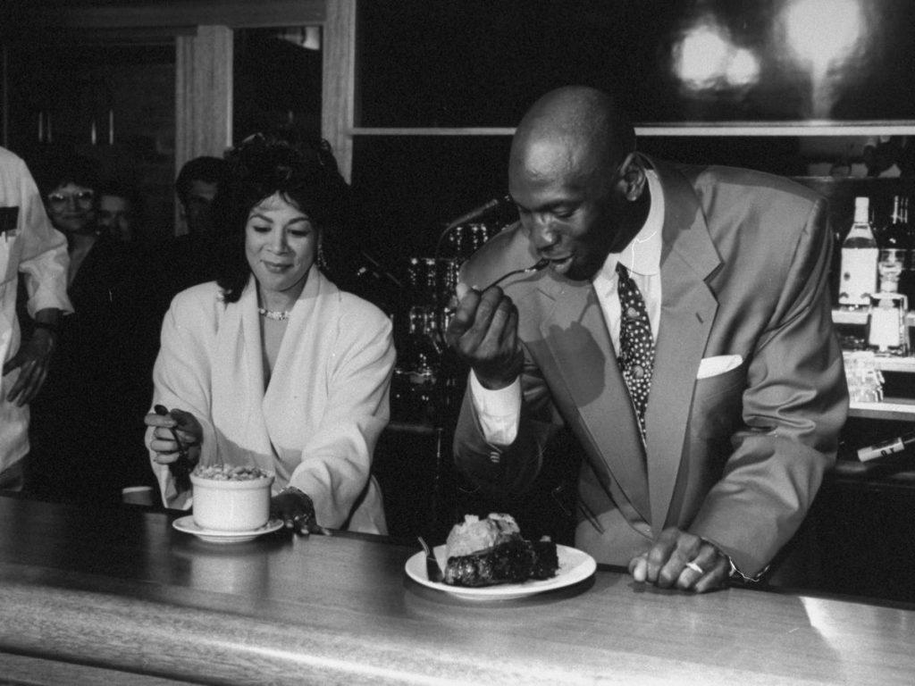 Michael Jordan's Steakhouse restaurante patrimonio