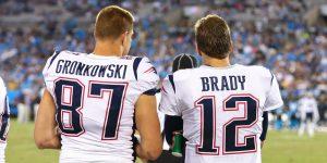 Brady y Gronkowski