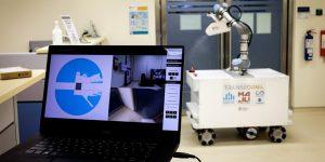 XDBOT: el robot desinfectante contra el coronavirus de Singapur