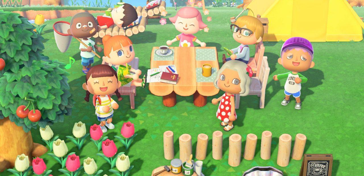 Animal Crossing cuarentena