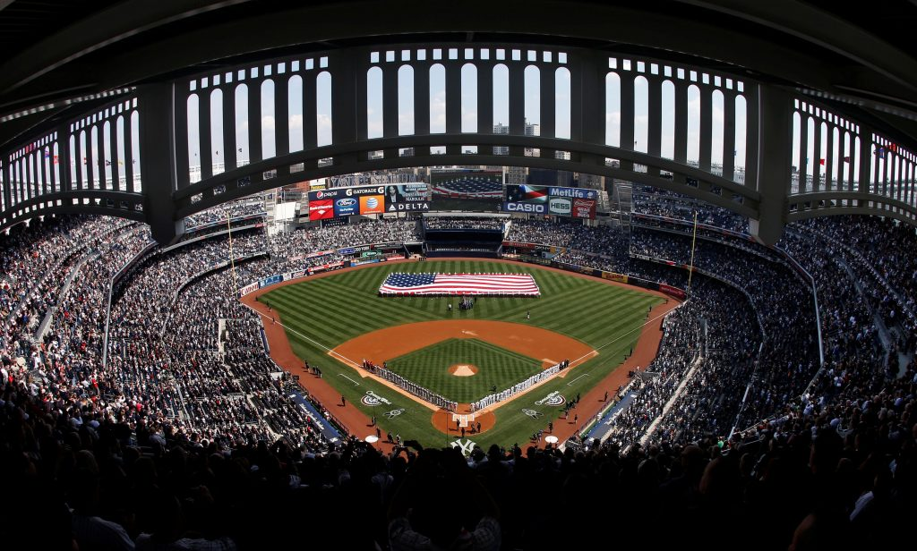 nueva york yankee stadium regreso actividad deportiva coronavirus