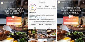Ahora podrás comprar comida directo desde Instagram y así ayudar a los pequeños negocios