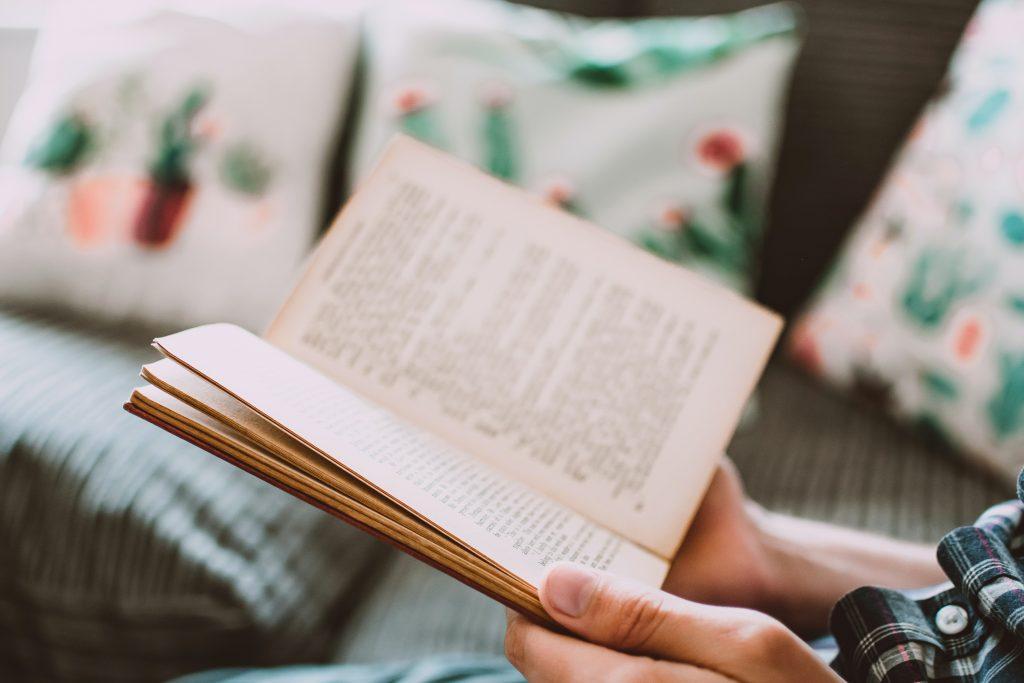 lee un libro sobre viajes vacaciones desde casa