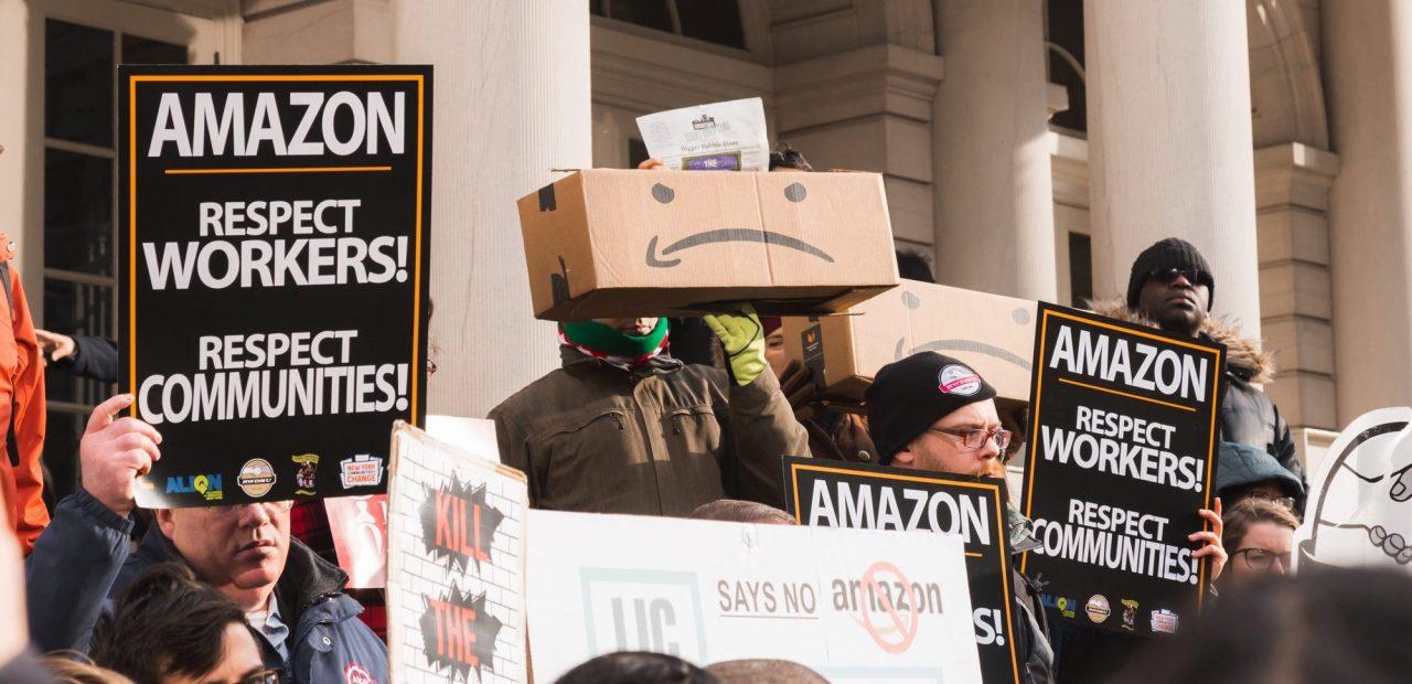 amazon trabajadores protesta por coronavirus