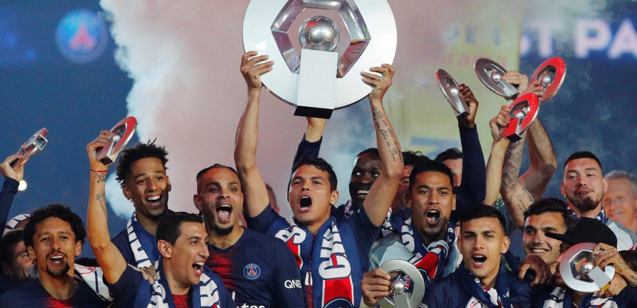PSG nuevo campeón de la Ligue 1 temporada 2019-2020 liga suspendida