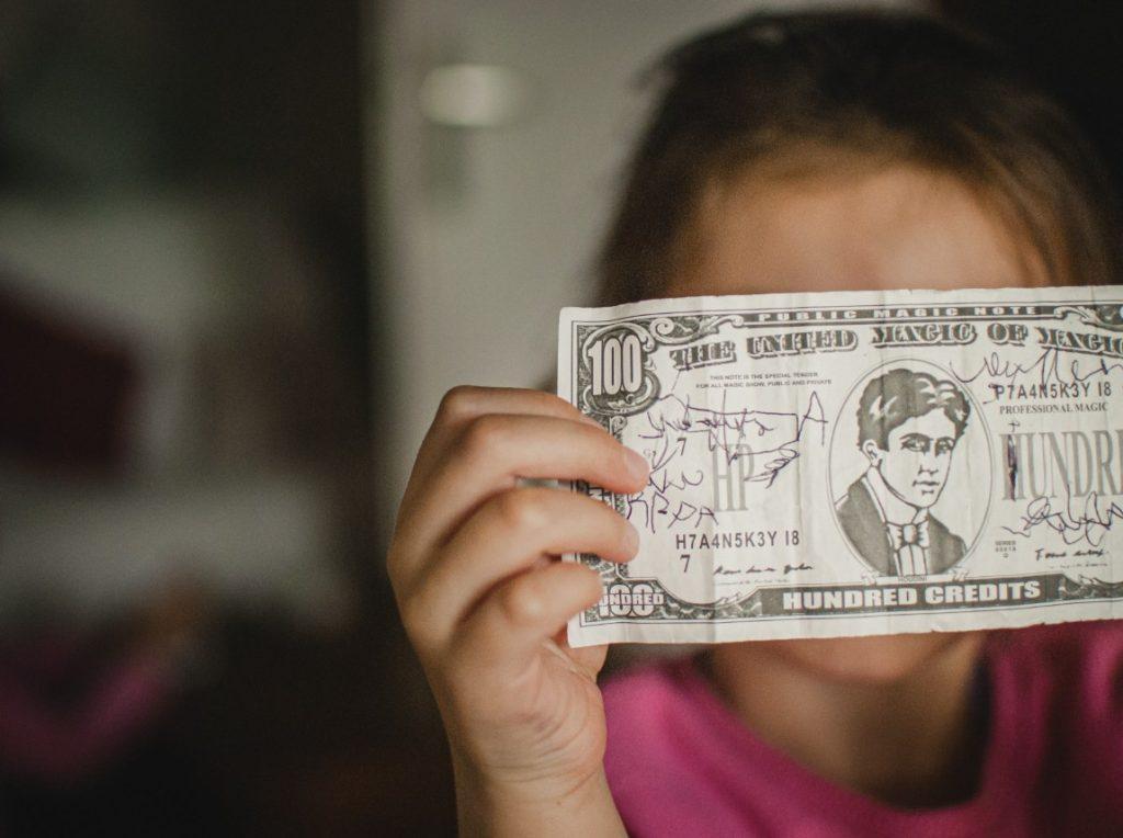 hablar de dinero cosa de niños